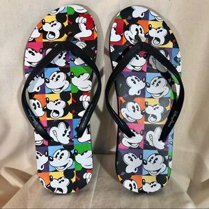 Disney Parks  Flip Flops Mickey Mouse Thongs 8
